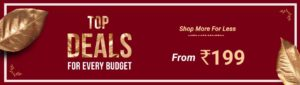 Deal Of the Day - Top Deals For Every Budget savedealsindia