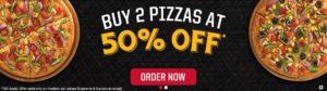 Top Offer - Buy 2 Pizzas Savedealsindia