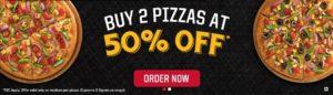 Buy 2 Pizza Savedealsindia
