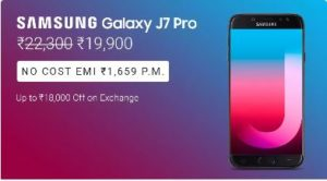Top Offers – Samsung Galaxy J7 Pro (Black, 64 GB) (3 GB RAM)
