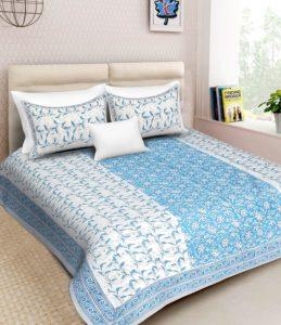 Cotton bedsheet, Save deals India