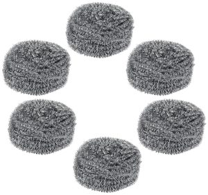 Gala, stell scrubber, combo of 6,save deals india