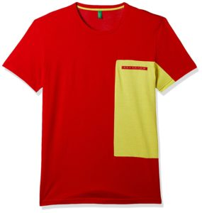 UCB, Mens Regular Fit T-shirt, Save Deals India