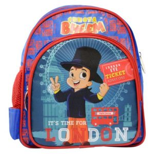 chota beem, red and blue, childrens luggage,save deals india