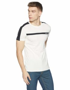 symbol, men's stylized, half sleeves t - shirt,Save Deals India