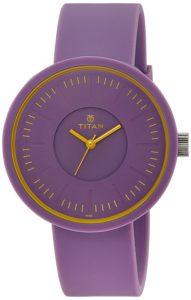 titan, purple analog watch, save deals india